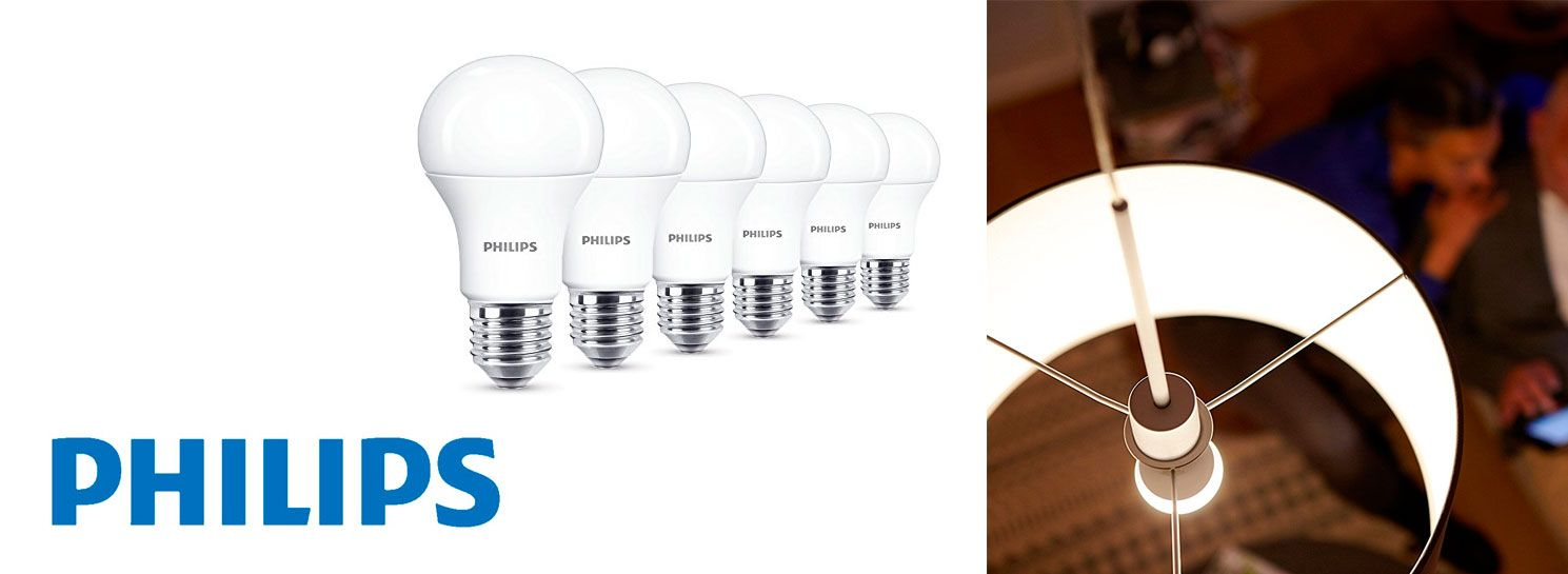 Oferta bombillas Philips de Led 75W